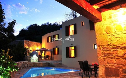 Cyprus Villa Areti-Courtyard Click this image to view full property details