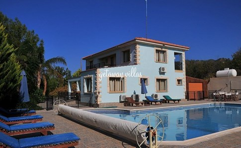 Cyprus Villa Marilena-sunset2 Click this image to view full property details