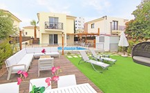 Cyprus Villa Pernera-Sunset Click this image to view full property details